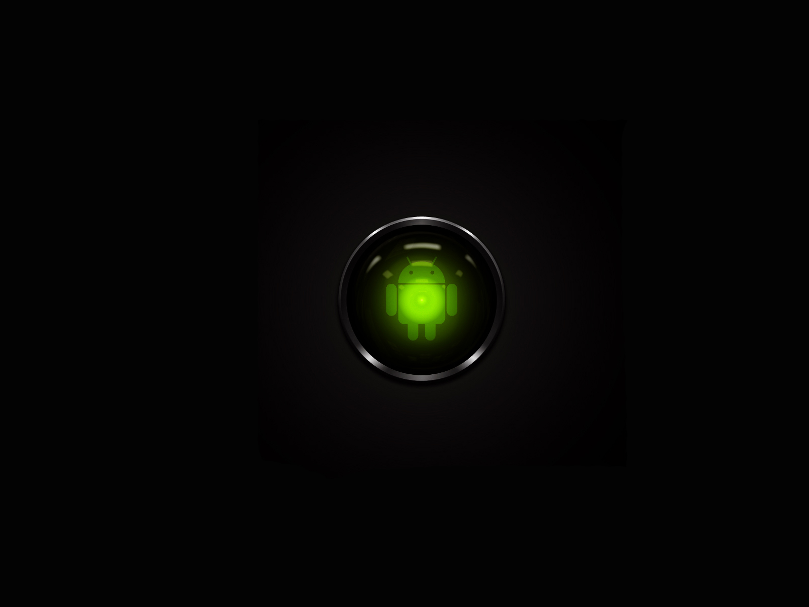 Android Wallpapers HD Black Background Simple Design