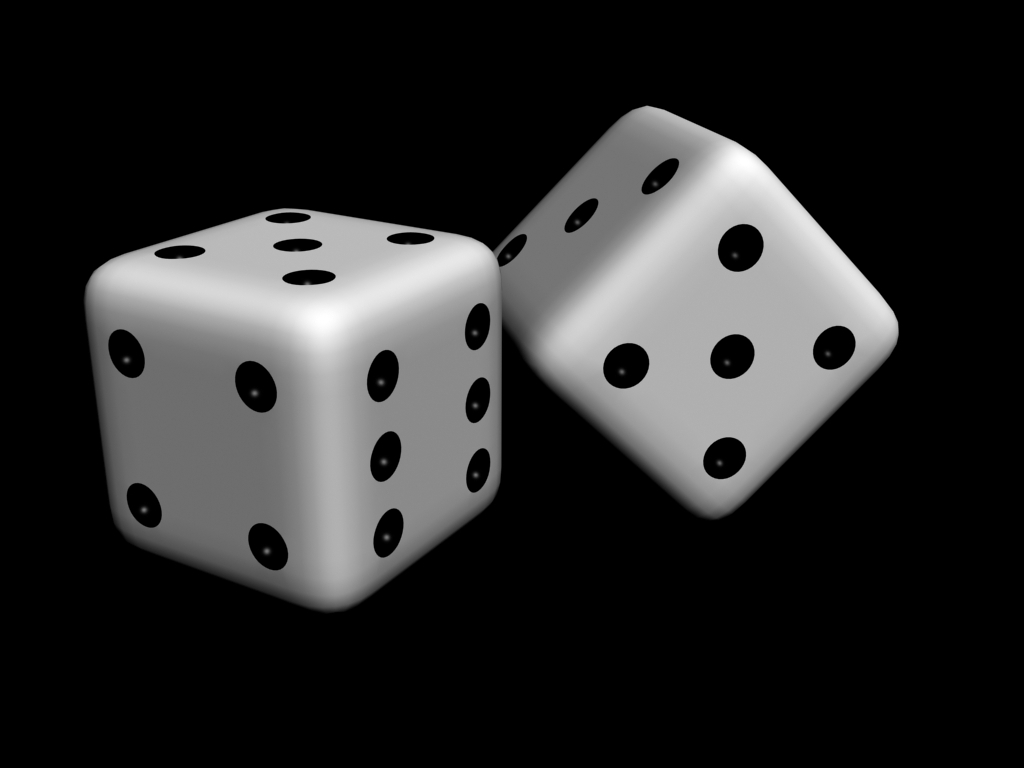 Classic White Dice Background HD Wallpaper Image Picture