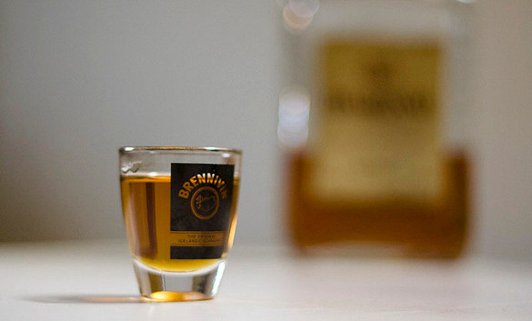 Awesome Drinks From Iceland Brennivin Cocktail Photo Picture