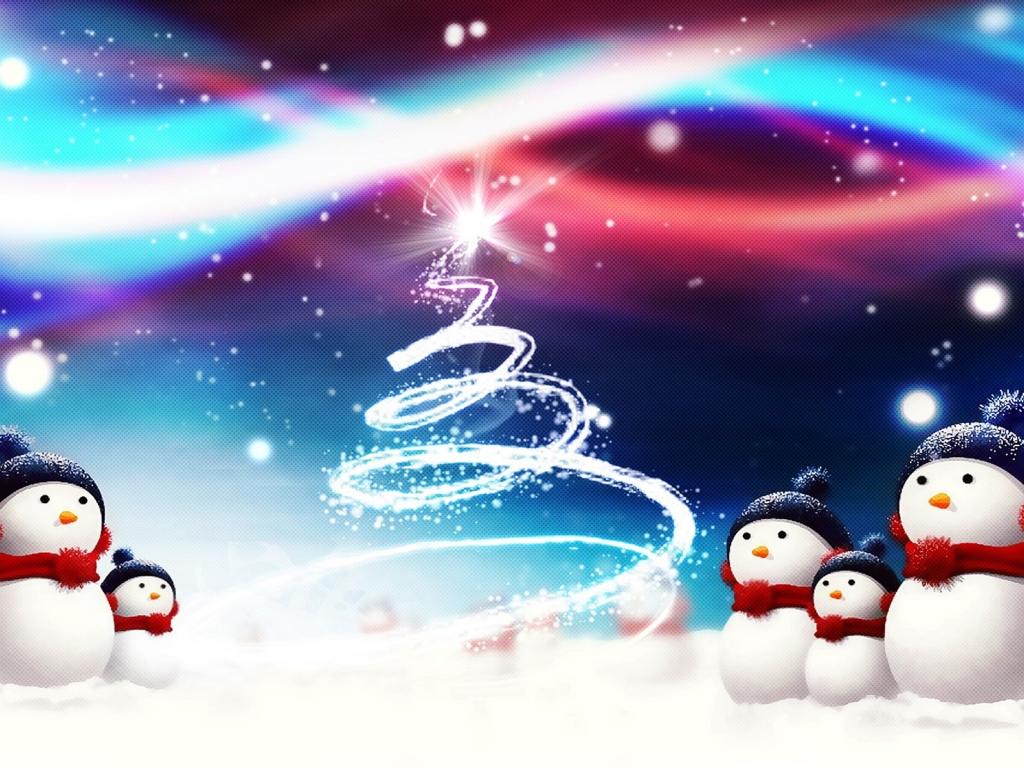 Snowman Christmas HD Wallpapers Images Desktop Gallery