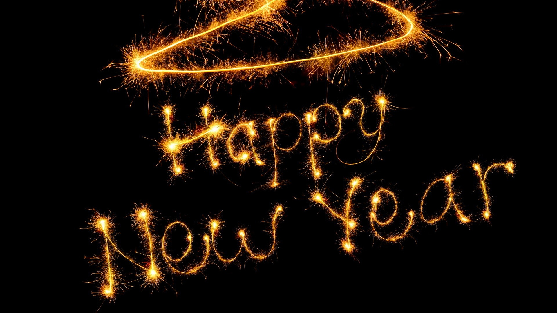 Beautiful Happy New Year 2014 HD Wallpaper Picture Image Free Download
