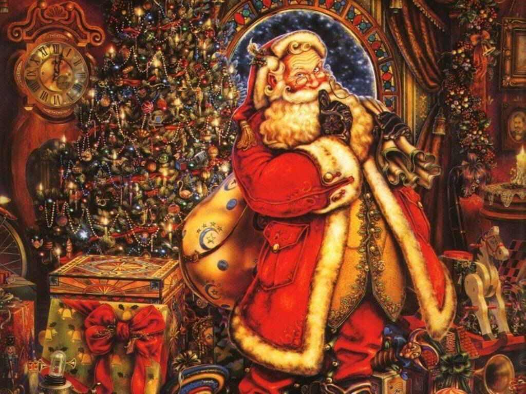 Best Santa Claus Merry Christmas HD Wallpaper Image Picture