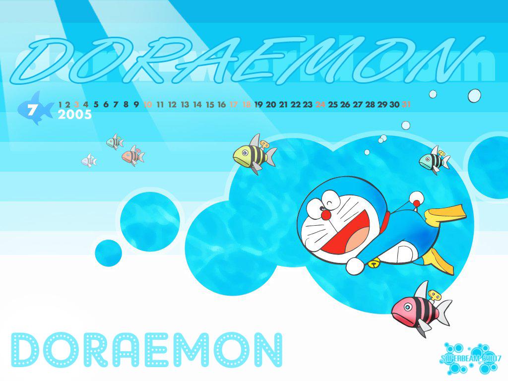 Free Download HD Wallpaper Background Doraemon Cartoon