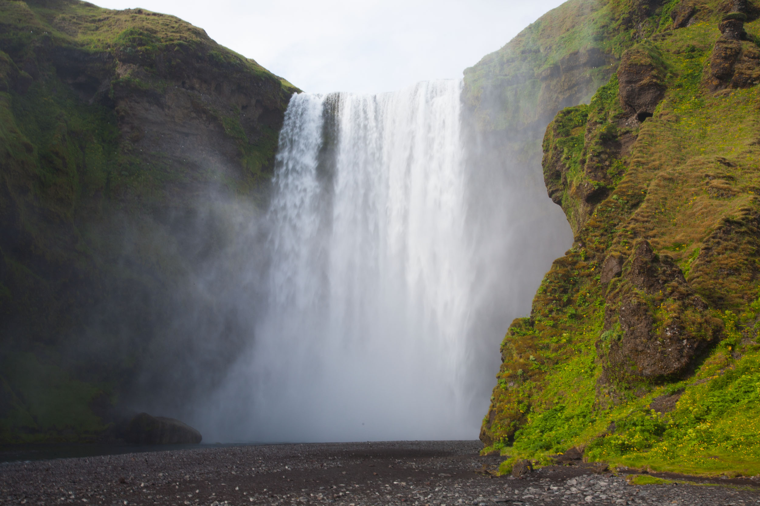 Dettifoss Waterfall In Southern Iceland Rana Banerjee Picture Photo
