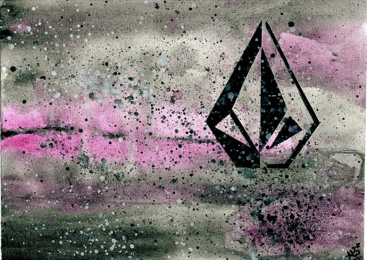 Amazing Pink Volcom Wallpaper HD Widescreen For Your PC Computer