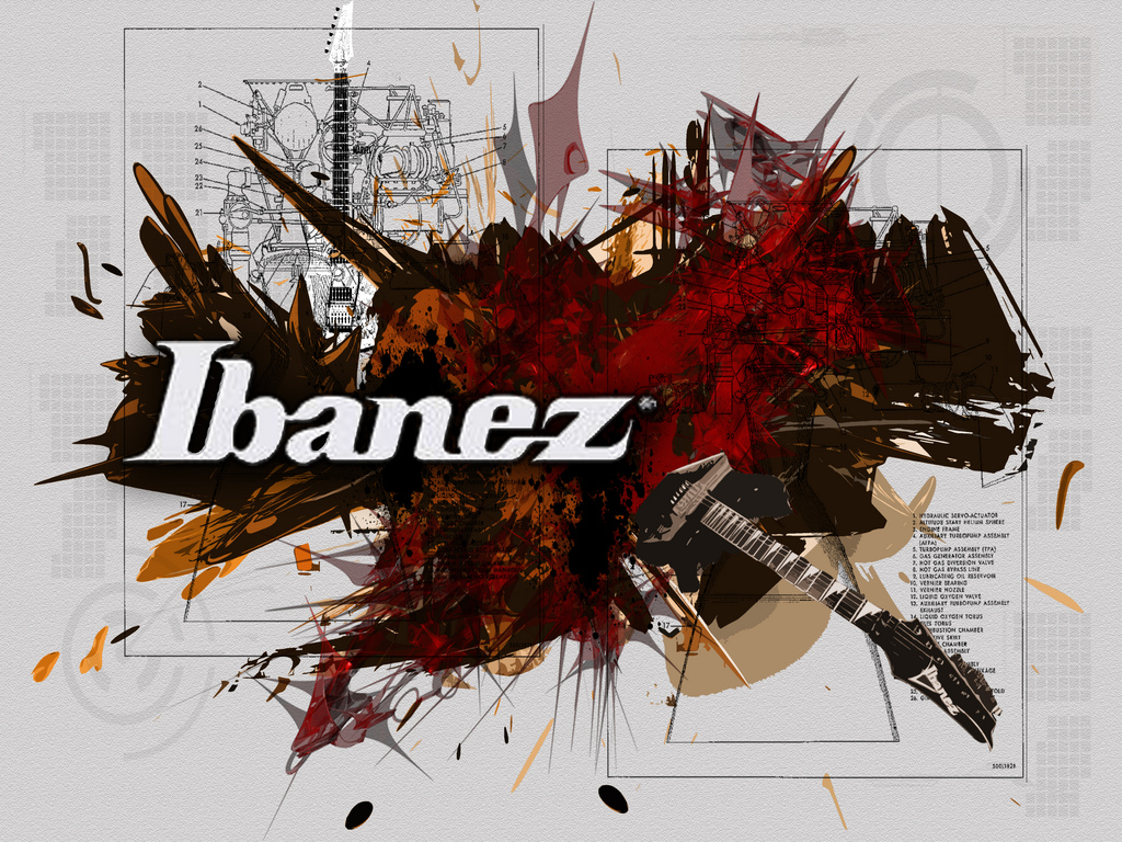 Ibanez Music Wallpaper HD Widescreen For Your PC Computer