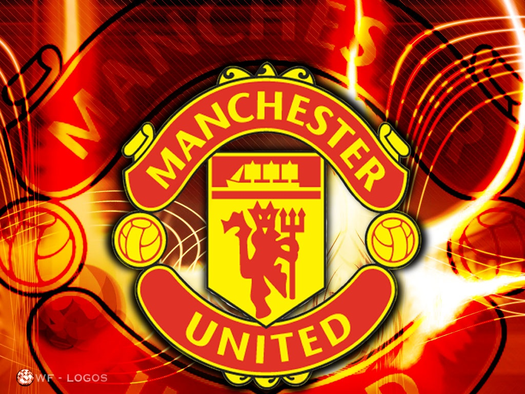 Manchester United Logo HD Wallpaper Widescreen For Your PC Computer