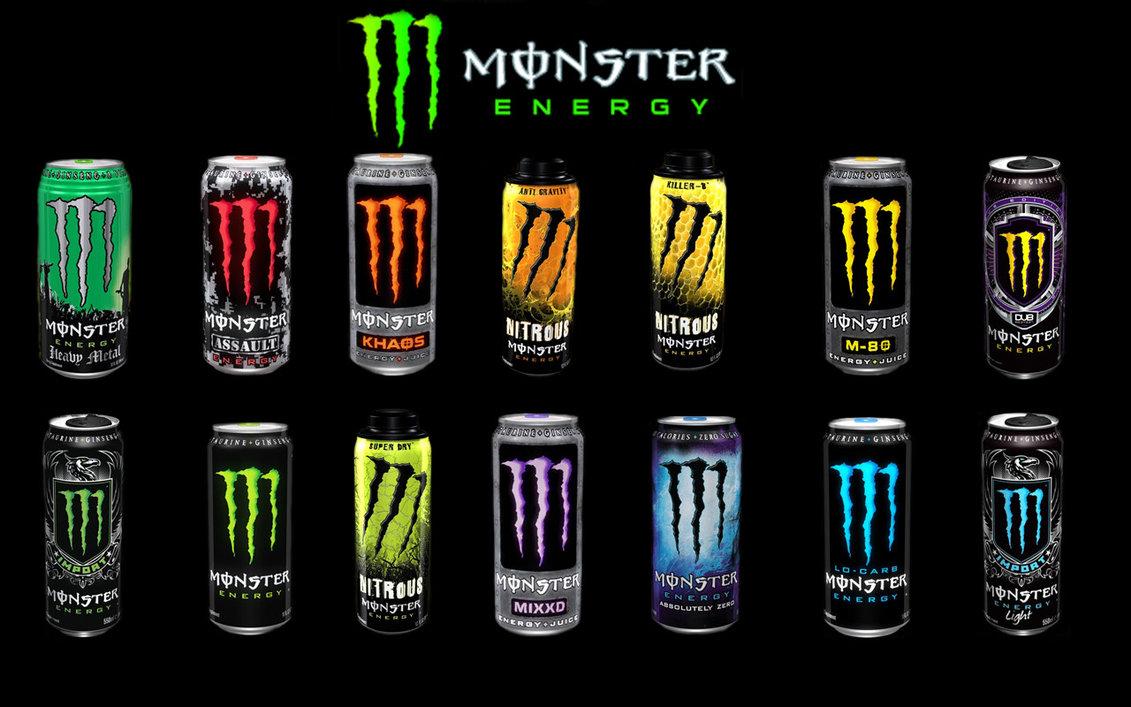 Monster Energy Flavors Full HD Wallpaper Widescreen Desktop