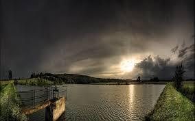 Beautiful 3D Nature Lake Scene