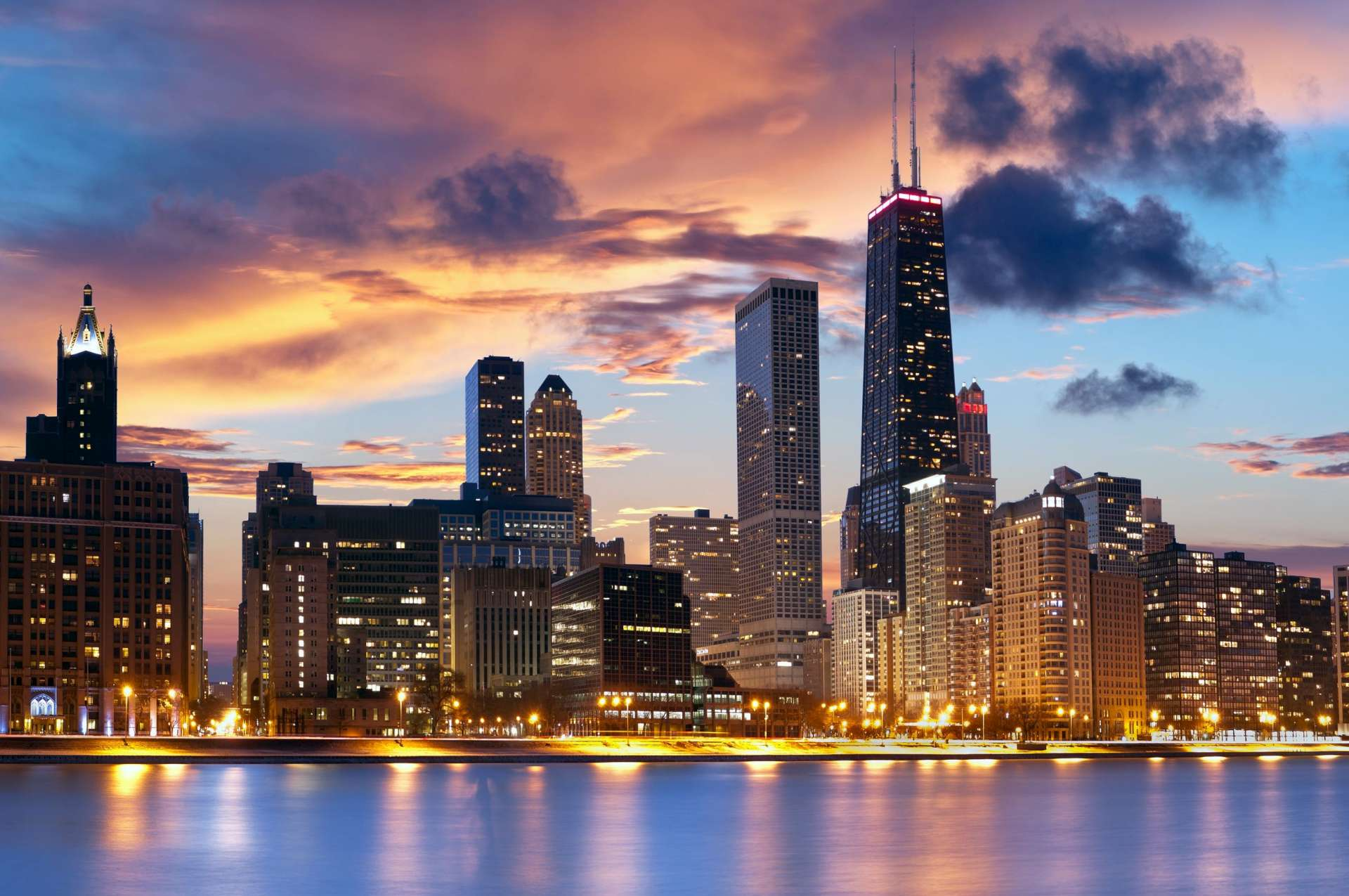 City of Chicago HD Wallpaper
