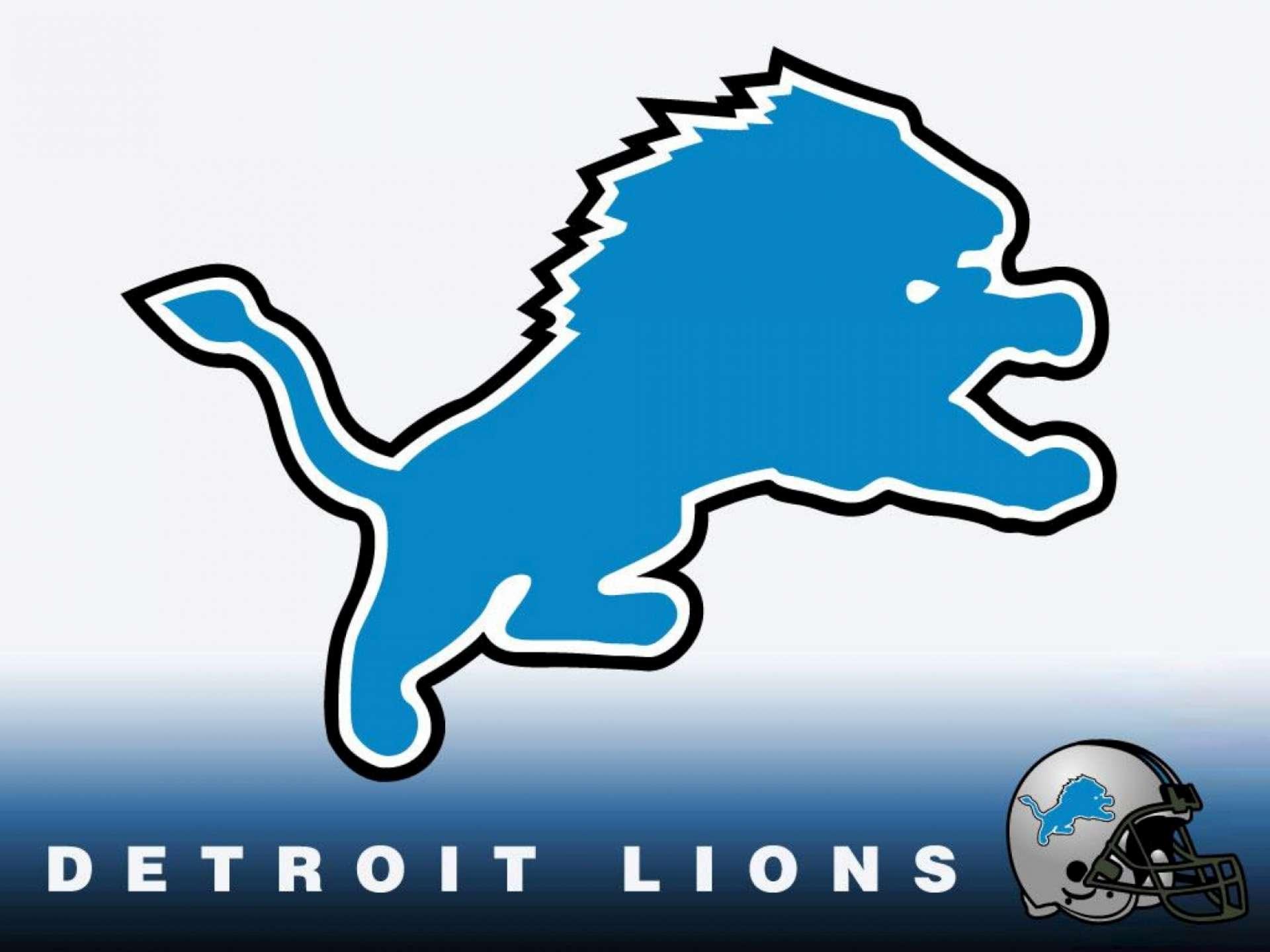 Detroit Lions Logo HD Wallpaper