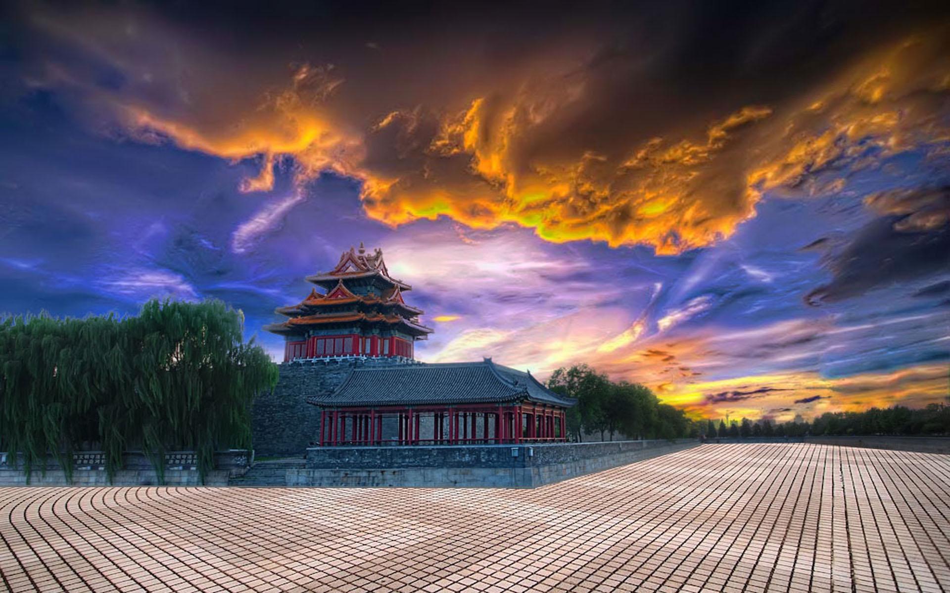 Forbidden City HD Wallpaper